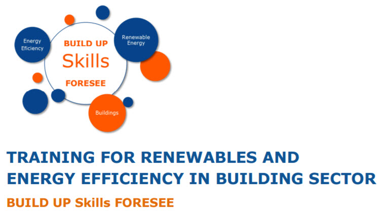 Projecto Build up Skills, Energy Training for Builders